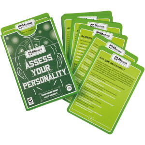 Mensa Cards Assess Your Personality