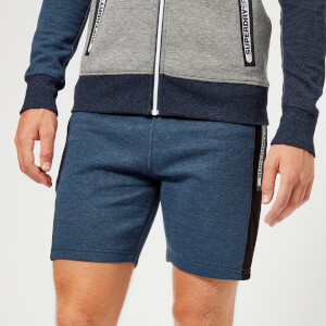 Superdry Sport Men's Court Shorts - Washed Indigo Heather