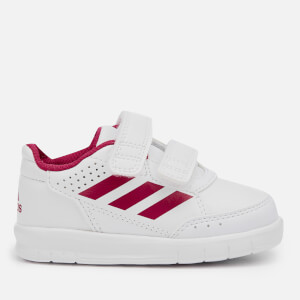 adidas AltaSport CF Infant Trainers - FTWR White/Pink