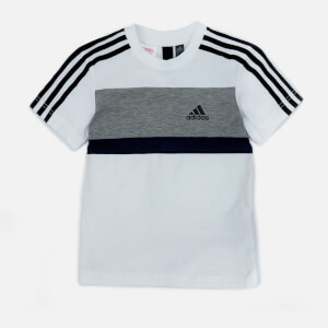 adidas Boys Sid Short Sleeve T-Shirt - White