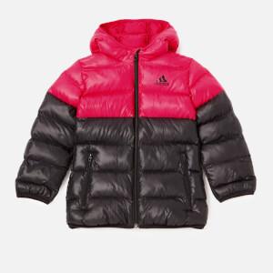 adidas Girls' Padded Back to School Jacket - Black