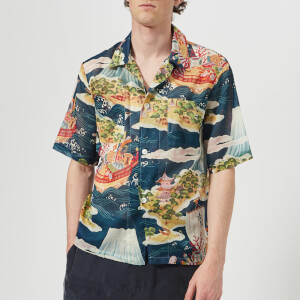 Our Legacy Men's Box 2P Sl Shirt - Crossing The Seven Seas