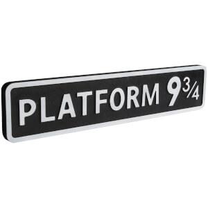 Shh Interiors Platform 9 3/4 Vintage Street Sign