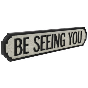Shh Interiors Be Seeing You Vintage Street Sign