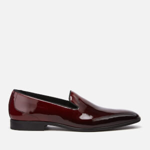 Kurt Geiger London Men's Westferry Leather Loafers - Black/Red