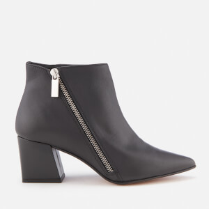 Carvela Women's Signet Leather Heeled Ankle Boots - Black