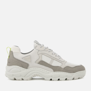 Filling Pieces Men's Trimix Runner Style Trainers - White