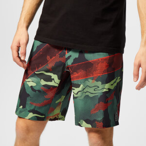 Reebok Men's Crossfit Epic Base Board Shorts - Multi Print