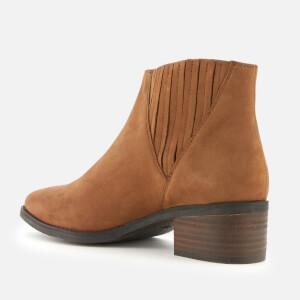 Steve Madden Women's Always Nubuck Western Ankle Boots - Camel: Image 2