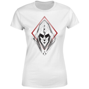 Assassin's Creed Origins Sketch Damen T-Shirt - Weiß
