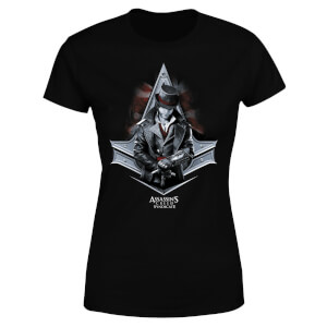 Assassin's Creed Syndicate Jacob Damen T-Shirt - Schwarz