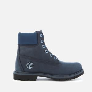 Timberland Women's Chic Satin 6 Inch Waterproof Boots - Black Iris