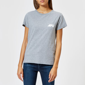 A.P.C. Women's Molly T-Shirt - Gris Chine