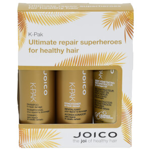 Joico K-Pak Trio Travel Set - Shampoo 50ml & Conditioner 50ml & Deep Penetrating Reconstructor 50ml