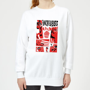 Sweat Femme Les Indestructibles 2 - Affiche - Blanc