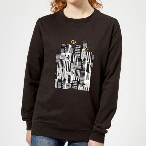 Sweat Femme Les Indestructibles 2 Skyline - Noir