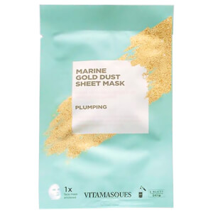 Vitamasques Gold Dust Sheet Mask Marine