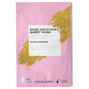 Vitamasques Gold Dusk Sheet Mask - Rose