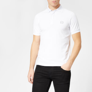 Armani Exchange Men's Tonal Logo Polo Shirt - White