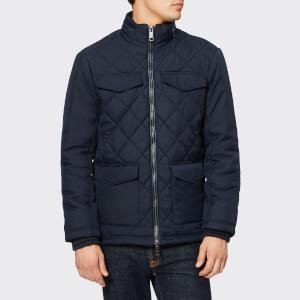 Armani Exchange Men's Quilted Jacket - Navy
