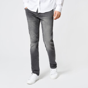 0a4dfb29d67a5 Armani Exchange Men s Slim Fit Washed Jeans - Grey Mens Clothing ...