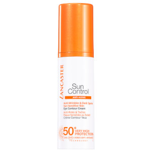 Lancaster Sun Control Eye Contour Cream for Anti-Wrinkles and Dark Spots SPF50+ -silmänympärysvoide 15ml