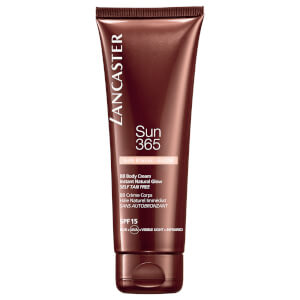 BB Body Cream com FPS 15 365 Sun Instant Natural Glow da Lancaster 125 ml