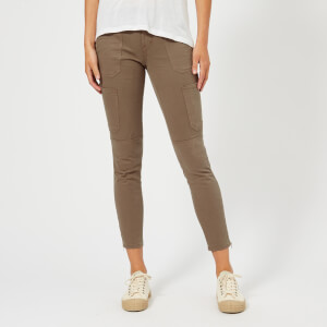J Brand Women's Skinny Utility Trousers - Brown