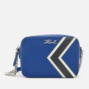 Karl Lagerfeld Women's K/Stripes Bag - Blue