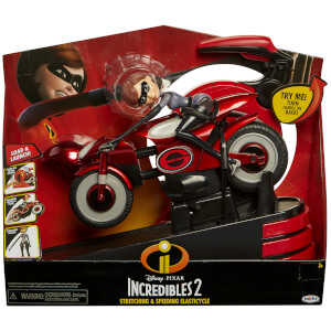 Figurine Elastigirl et Elasticycle Les Indestructibles 2 - Jakks Pacific Disney