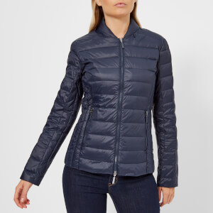 Armani Exchange Women's Lightweight Down Jacket - Navy