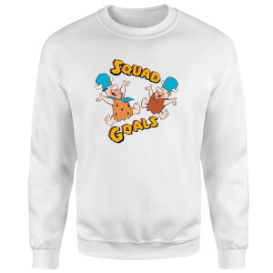 The Flintstones Squad Goals Sweatshirt - White