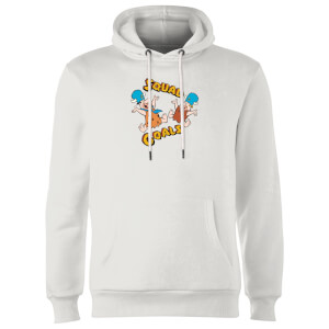 The Flintstones Squad Goals Hoodie - Wit
