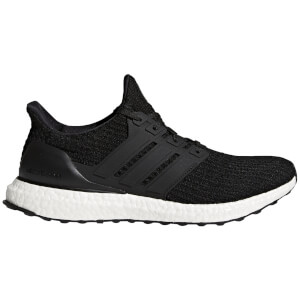 adidas Men's Ultra Boost Running Shoes - Black