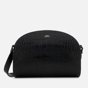 A.P.C. Women's Demi-Lune Cross Body Bag - Black