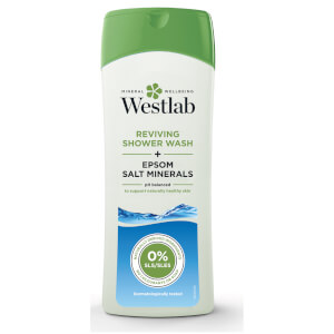Средство для душа с чистыми минералами соли Эпсома Westlab Reviving Shower Wash with Pure Epsom Salt Minerals 400 мл