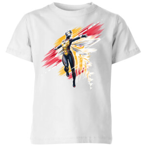Ant-Man And The Wasp Brushed Kids' T-Shirt - White