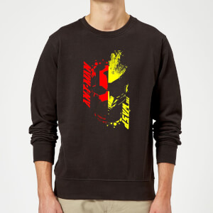 Ant-Man And The Wasp Split Face Pullover - Schwarz