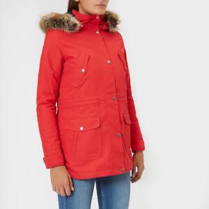 Barbour Women's Stronsay Jacket - Reef Red/Navy
