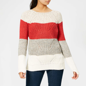 Barbour Women's Padstow Knit Jumper - Chilli Red