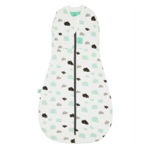 ergoPouch Cocoon Swaddle and Sleep Bag - 2.5 Tog - Clouds