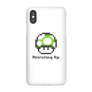 Coque Smartphone Powering Up - Super Mario Nintendo pour iPhone et Android