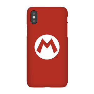 Funda móvil Nintendo Mario Logo para iPhone y Android