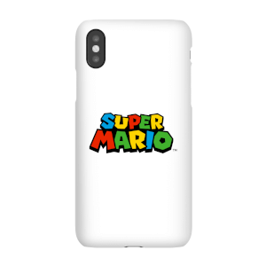 Coque Smartphone Nintendo Super Mario Logo Couleur - iPhone & Android