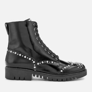 McQ Alexander McQueen Women's Bess Derby Boots - Black