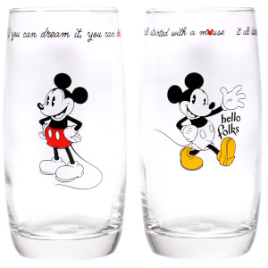 Mickey Mouse Gläser (2er Set)