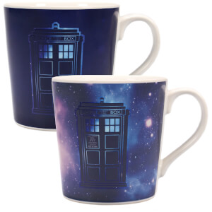 Dr Who Galaxy Heat Changing Mug