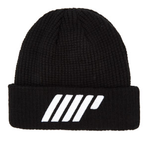 Myprotein Knitted Beanie - Black