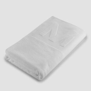 Большое полотенце ‑ белый цвет