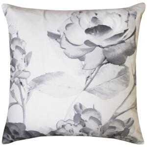Karl Lagerfeld Senna Floral Pillowcase Pair - Grey